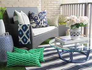 Peinture Balcon Sol : tapis ext rieur et d 39 autres rev tements pour le balcon ~ Premium-room.com Idées de Décoration