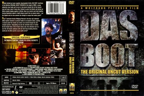 Boat Dvd by Das Boot Dvd Cover Cover Addict Freecovers