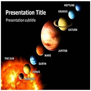 Powerpoint Templates Free Download: Solar System ...