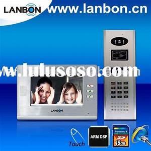 Commax Video Intercom Wiring Diagram  Commax Video