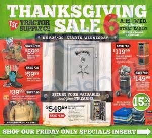 tractor supply black friday 2017 ad sale deals