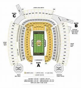 Steelers Heinz Field Seating Chart