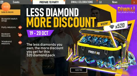 Top up diamond free fire di shopee. Free fire top up event only 90tk 520diamond. - YouTube