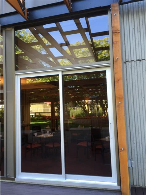 sliding aluminum door repair replace and install in