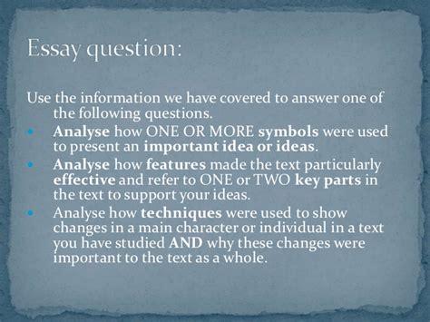 1984 part 1 essay questions