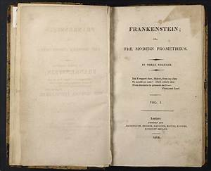 Frankenstein: Penetrating the Secrets of Nature: The Birth ...