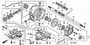 Honda Atv 2003 Oem Parts Diagram For Rear Final Gear