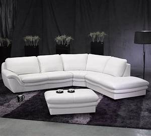 modern sectional sofa in white leather s3net sectional With modern sectional sofa on sale