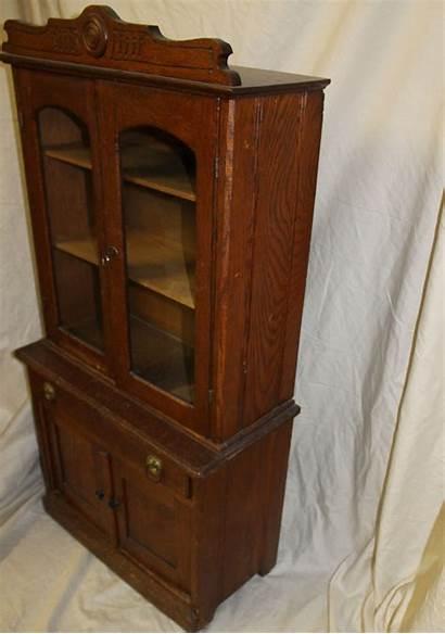 Kitchen Cupboard Antique Oak Salesman Sample Antiques