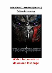 Streaming Transformers 4 : transformers the last knight 2017 full movie streaming hd ~ Medecine-chirurgie-esthetiques.com Avis de Voitures