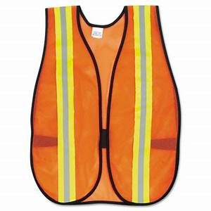 Orange Safety Vest 2