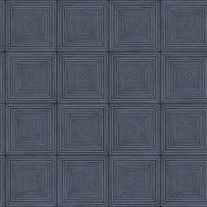 Papier Peint Bleu Foncé : papier peint parquet bleu fonce mh36523 de la collection papier peint beaumanoir lut ce ~ Melissatoandfro.com Idées de Décoration