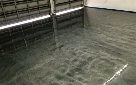 garage floor paint metallic a rocksolid metallic garage floor coating project all garage floors
