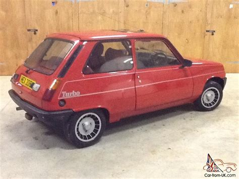 renault red 1983 renault 5 gordini turbo red