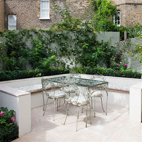garden seating area contemporary garden ideas