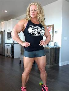 Female Bodybuilding  Female Bodybuilders And Physique  Female Muscle Young Biceps