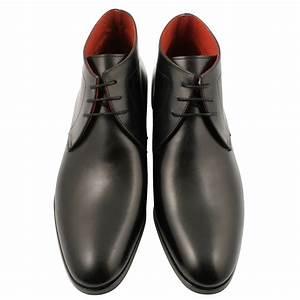 Bottines À Lacets Homme : bottines a lacets homme legend en cuir noir exclusif ~ Melissatoandfro.com Idées de Décoration