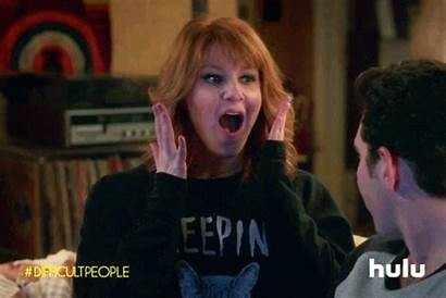 Excited Difficult Hulu Giphy Gifs