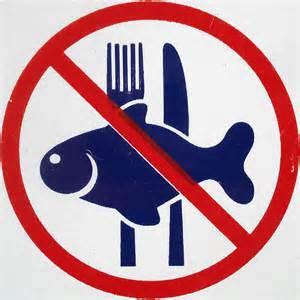 No Fish Sign