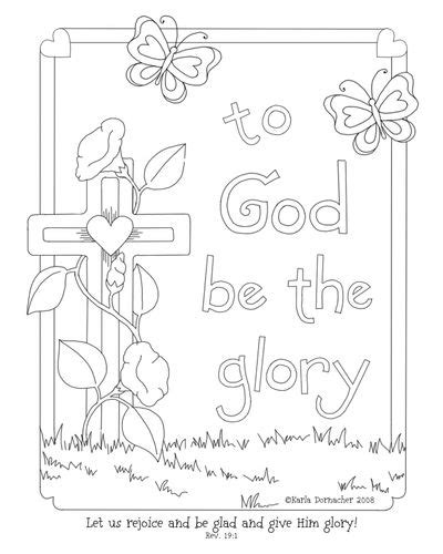 glory   lord coloring page letter writing ideas