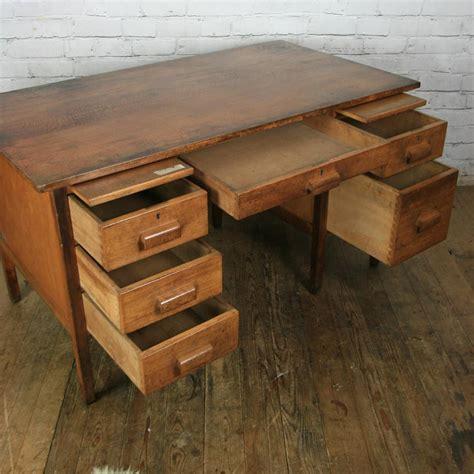 oak teachers desk vintage oak school teachers desk mustard vintage