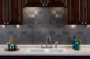 Smart Tiles Peel And Stick Wall Tile by Stainless Steel Backsplash A Sleek Shine For A Modern