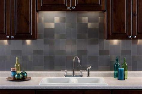 kitchen metal backsplash ideas stainless steel backsplash a sleek shine for a modern