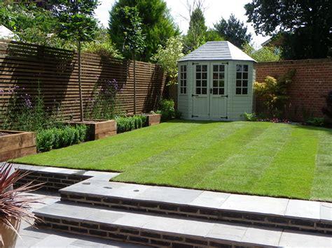 Modern Family Garden  Gro Landscapes Limited