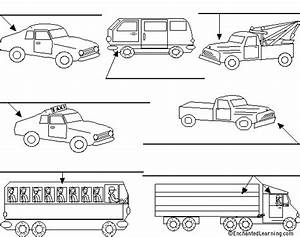 Label the Trucks and Cars (Voitures et Camions) in French ...