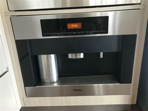 Miele original spare parts ensure that your appliance will continue to function as usual in the event of a repair. Miele CVA 5065 Built-In Coffee Machine | Coffee Machines | Gumtree Australia Brisbane North West ...