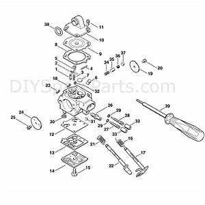 Stihl Ms 280 Chainsaw  Ms280 C  Parts Diagram  Carburetor