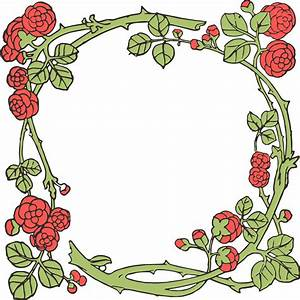 Free Stock Images - Vintage Rose Vector & Clip Art   Oh So ...