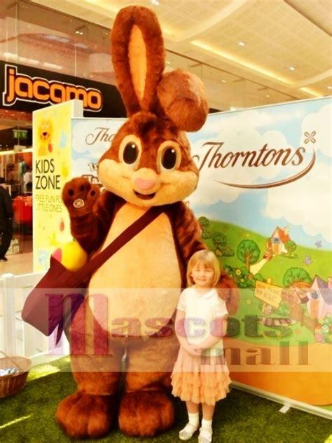 high quality easter bunny rabbit mascot costume