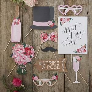 Shabby Chic Accessoires : accessoire photobooth animation mariage boh me chic achat vente ~ Markanthonyermac.com Haus und Dekorationen