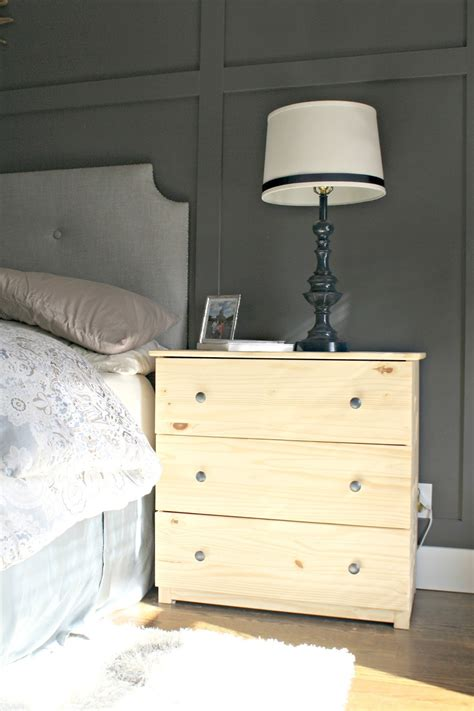 Dresser As Nightstand by Ikea Dresser Hacks As Nightstands From Thrifty Decor