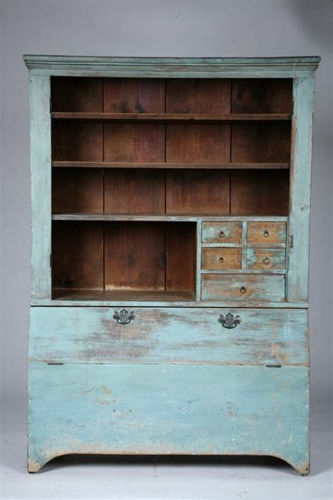 Small Wall Cupboard by Wall Cupboard American 19th Century Pine One