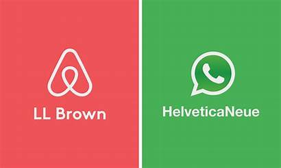 Famous Logos Names Font Redesigned Cool Fonts