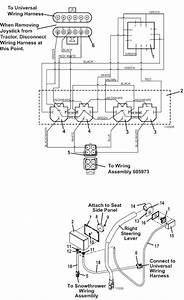 The Mower Shop  Inc Electric Lift  U0026 Electric Spout Joystick Diagram