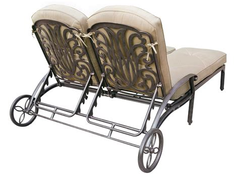 chaise metal vintage darlee outdoor living elisabeth cast aluminum antique