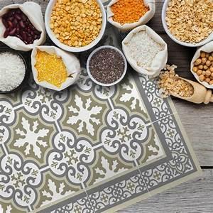 Set De Table Carreaux Ciment : set de table carreaux de ciment simone beige 35x50cm ~ Melissatoandfro.com Idées de Décoration