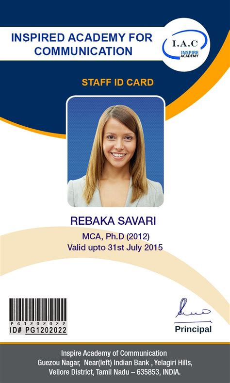 faculty id card template id card designs id cards design cards graphic design