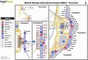 Madrid barajas airport map - Madrid international airport ...