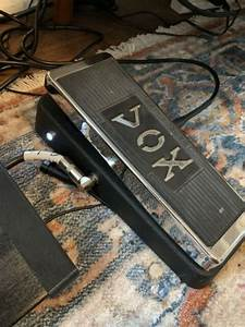 Vox V847 Modded For True Bypass  Led Indicator Light  And
