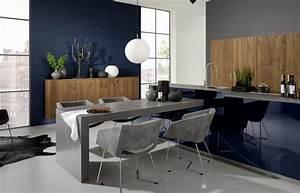 Cuisine Bleue Ikea : d co cuisine pourquoi pas du bleu nuit nos inspirations ~ Preciouscoupons.com Idées de Décoration