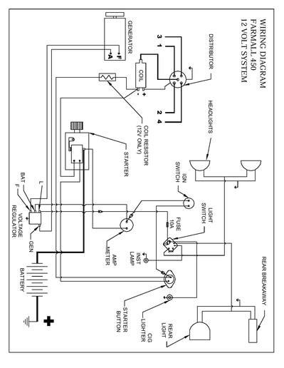 450 wiring diagram yesterday s tractors