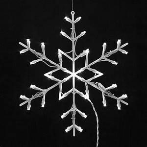 16, U0026quot, Lighted, Led, Snowflake, Christmas, Window, Silhouette, Decoration, -, Walmart, Com