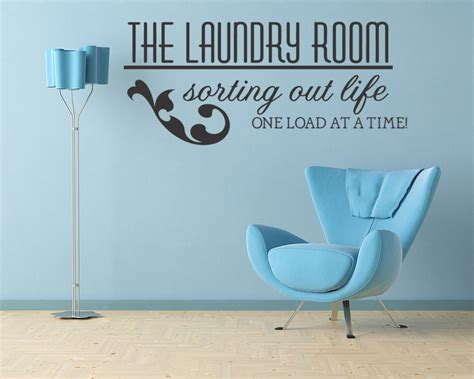 Laundry Room Vinyl Wall Quotes Quotesgram