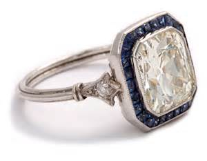 antique sapphire engagement rings sapphire and engagement ring