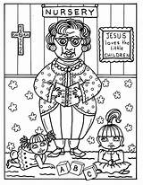 Coloring Bible Study Church Ladies Adult Verkocht Stamps sketch template