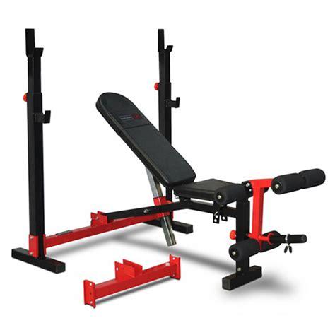 Bodyworx Foldable Olympic Standard Combo Weight Bench Mr